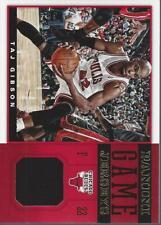 2012-13 Panini Game Jerseys #21 Taj Gibson Jersey - NM-MT