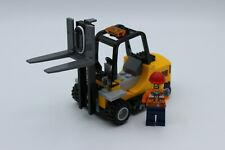 LEGO City Eisenbahn- Gabelstapler / Stapler NEU (Bausatz) aus Set 60198