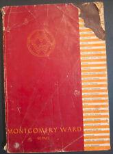 Vintage Montgomery Ward Fall-Winter 1934 1935 Catalog Wish Book Great Depression
