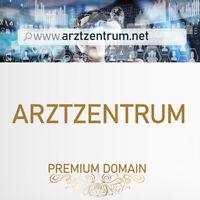 arztzentrum.net Premium Domain für Arzt, Ärzte, Facharzt, Arztzentrum Arztpraxis