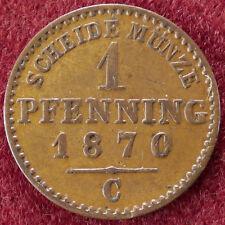 Prussia 1 Pfennig 1870 C (D0804)