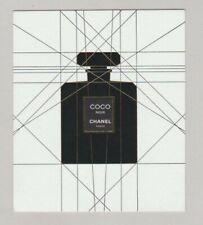 Carte publicitaire - advertising card  - Coco Noir de Chanel