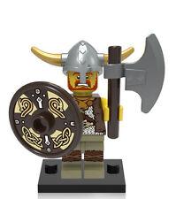 Viking Warrior minifigure warrior king toy custom figure History  Castle knight
