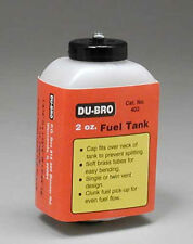 Dubro S2 Square Fuel Tank 2 oz 402