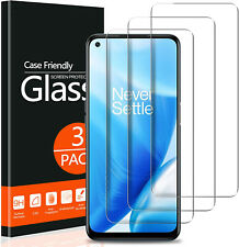 3 PACK Clear Screen Protector Tempered Glass for OnePlus Nord N200 5G