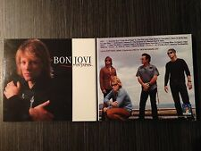 BON JOVI 2 CD IN JAPAN
