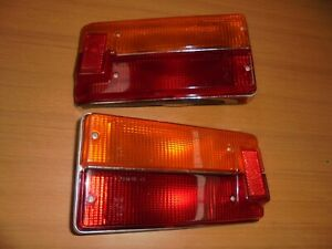 Fiat 125 Special/Rubber Dinghy Pair Of Lights Rear New