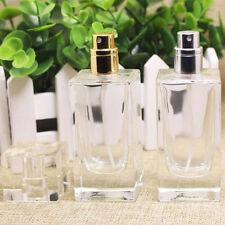 Health Empty Perfume Bottle Atomizer Rectangle Glass 50ml Spray Bottle Pop