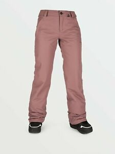 2021 NWT WOMENS VOLCOM FROCHICKIE INSULATED PANTS $145 S Rose Wood relaxed fit