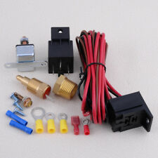 175~185 Electric Engine Fan Thermostat Temperature Relay Switch Sensor Kit