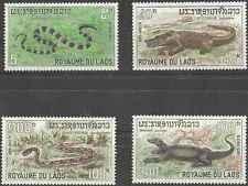 Timbres Reptiles Laos 167/70 ** lot 14034