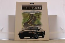 """1997 Ford Thunderbird T-bird Dealer Brochure 9"""" x 11"""" Mint"""