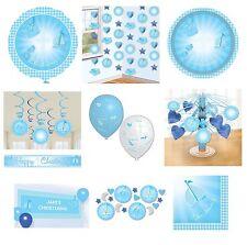 Tutto blu Amscan per la tavola per feste e party