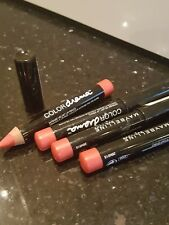 4 X maybelline colour drama intense velvet pencils in colour 410 fab orange BN