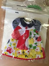 OOAK Patchwork print dress for Neo Blythe   ! ship within the US only!!