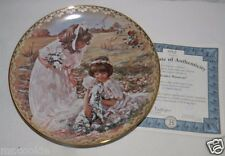 Tender Moments Plate by Sandra Kuck 10th Sister's Love Forever Collection COA