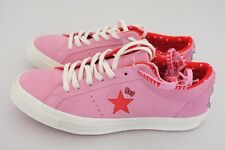 Hello Kitty x Converse One Star Low OX Prism Pink Suede Men 9.5 Wmn 11.5 162939C