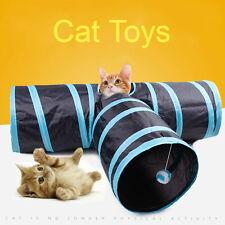 Pop Up 3 Ways Folding Pet Cat Kitten Rabbit Play Toy Fun Tunnel Tube Cave 7866U