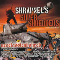 Various Artists : Shrapnel's Super Shredders: Neoclassical Shred CD Limited