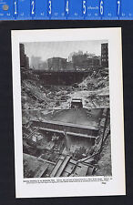 Building the New York City SUBWAY -1937 Page of History