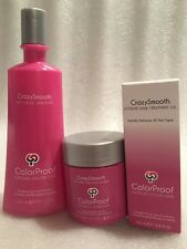 ColorProof Crazy smooth Volumizing Shampoo 10.1 oz,extreme shine and anti frizz