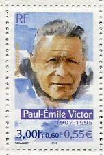 FRANCE - 2000 - timbre 3345, PAUL-EMILE VICTOR, AVENTURIERS, CELEBRITE, neuf**