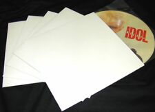 """(10) 12JW Glossy White 12"""" Vinyl Record Supplies Jackets Album Covers NEW"""