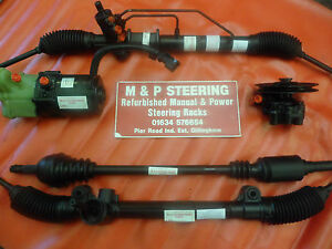 Peugeot Expert( 2006-2014) Power Steering Rack Refurbished 1 Yrs Guarantee.