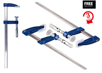 """Heavy Duty F Clamp 300mm (12"""") Bar Clamp Woodwork F Clamps DISCOUNTED SETS"""