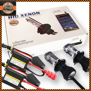 H4 HID Kit Headlight Conversion High / Low Beam Bi Xenon 6000K