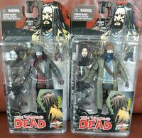 McFarlane Toys Walking Dead Jesus Skybound Exclusive Action Figure Color B&W Set