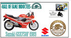SUZUKI MOTORCYCLE HALL OF FAME COV, 1989 GSX750F