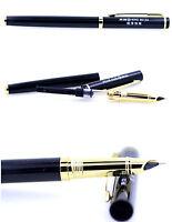 NEUER Gold und schwarzer Held 9015A Füllfederhalter. Sehr feine 4mm Spitze