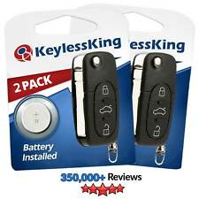 Fits 1998 1999 2000 2001 VW Golf Keyless Entry Remote Key Fob HLO1J0959753F 2x
