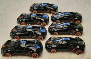 7x 2021 Mint Loose Hot Wheels Bugatti Veyron 16.4 New Release
