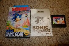 Sonic the Hedgehog 1 (Sega Game Gear, 1991) Complete in Box