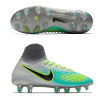 UK 4 Nike JR MAGISTA OBRA II FG Boys Kids Sock Football Boots EU 36.5 (844410)