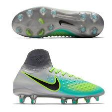 UK 4 Nike JR MAGISTA OBRA II FG Boys Kids Sock Football Boots (844410 003)