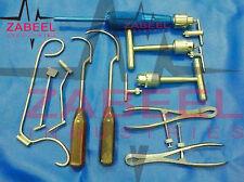 Orthopedic instruments 10 PCs Set by ZABEELIND