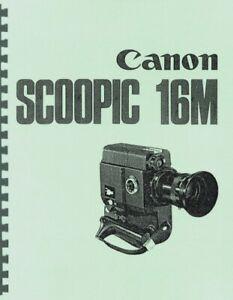 Canon Scoopic 16M Service & Repair Manual Reprint