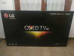 SMART TV OLED 4K ULTRA HD LG 55 POLLICI 55B6V HDR 10 HLG DOLBY VISION