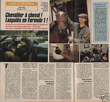Coupure de presse Clipping 1992 Chevalier & Laspalès (1 page 1/2)