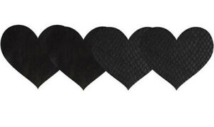Women Self Adhesive Pasties Costume Lingerie Heart Shape Female Breast Sticker
