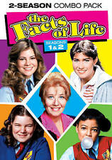 The Facts of Life - The Complete First and Second Seasons (DVD, 2014, 3-Disc Set