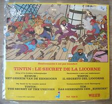 DECALCO WILLEB HERGE TINTIN LE SECRET DE LA LICORNE 1978