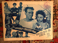The Double -Crossed Fool(That Nazty Nuisance) RR 1950's  Favorite comedy lobby