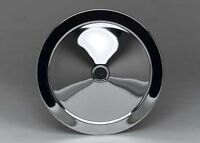 CHEVY, CORVETTE, CAMARO, CHEVELLE, CHROME AIR CLEANER Replacement TOP, 14 Inch
