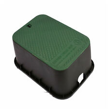 DEEP VALVE BOX Lawn Sprinkler Irrigation Control Water Cover Lid Rectangular