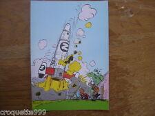 Carte postale Trésors Journal de Spirou FRANQUIN 55 Couv 73e album