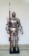Medieval Crusader Suit of Armor 17th Century Combat Full Body Armour Suit